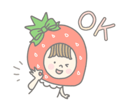Himeichigo-chan(English ver.) sticker #437452