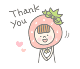 Himeichigo-chan(English ver.) sticker #437453