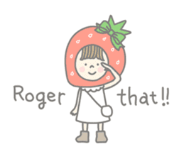 Himeichigo-chan(English ver.) sticker #437454