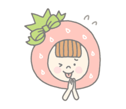 Himeichigo-chan(English ver.) sticker #437455