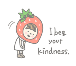 Himeichigo-chan(English ver.) sticker #437456