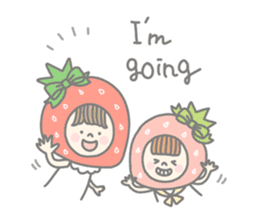 Himeichigo-chan(English ver.) sticker #437457