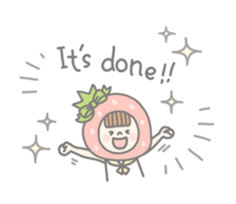 Himeichigo-chan(English ver.) sticker #437458