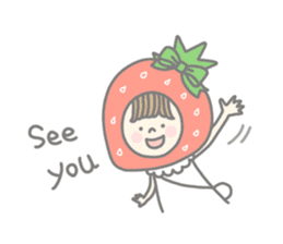Himeichigo-chan(English ver.) sticker #437459
