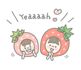 Himeichigo-chan(English ver.) sticker #437462