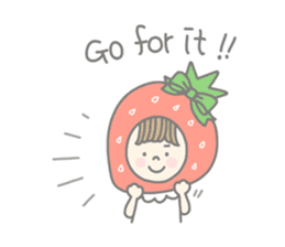 Himeichigo-chan(English ver.) sticker #437463