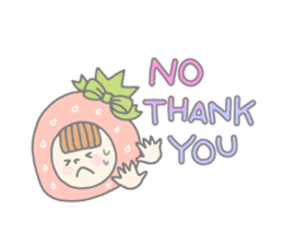 Himeichigo-chan(English ver.) sticker #437464