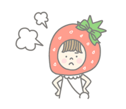 Himeichigo-chan(English ver.) sticker #437465