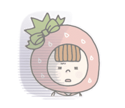 Himeichigo-chan(English ver.) sticker #437466