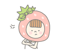 Himeichigo-chan(English ver.) sticker #437467