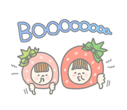 Himeichigo-chan(English ver.) sticker #437468