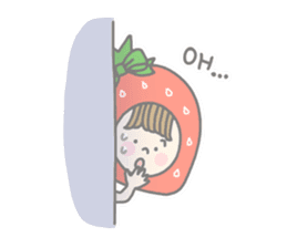 Himeichigo-chan(English ver.) sticker #437470