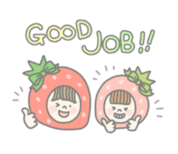 Himeichigo-chan(English ver.) sticker #437476