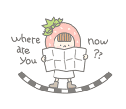Himeichigo-chan(English ver.) sticker #437478