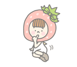 Himeichigo-chan(English ver.) sticker #437481