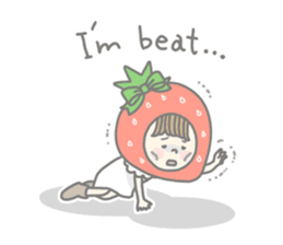 Himeichigo-chan(English ver.) sticker #437482