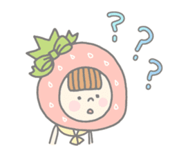 Himeichigo-chan(English ver.) sticker #437483