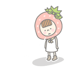 Himeichigo-chan(English ver.) sticker #437484