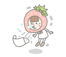 Himeichigo-chan(English ver.) sticker #437486