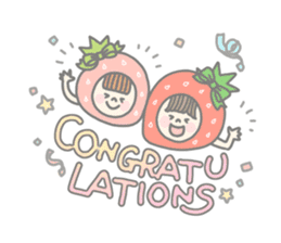 Himeichigo-chan(English ver.) sticker #437487