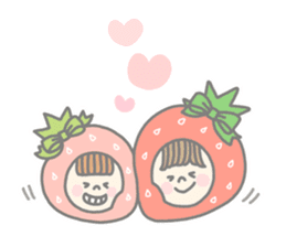 Himeichigo-chan(English ver.) sticker #437488