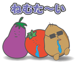 VEGETABLES LIFE sticker #437902