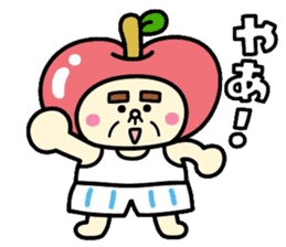 Fairy apple sticker #438529