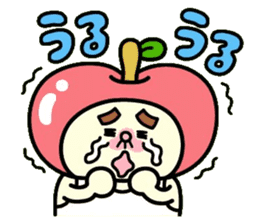 Fairy apple sticker #438534