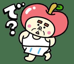 Fairy apple sticker #438535