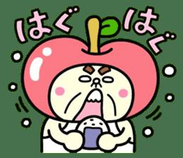 Fairy apple sticker #438536