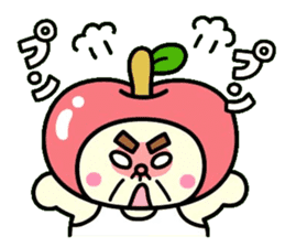 Fairy apple sticker #438537