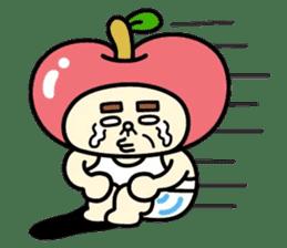Fairy apple sticker #438540