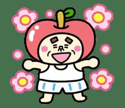 Fairy apple sticker #438541
