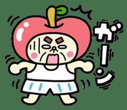Fairy apple sticker #438542