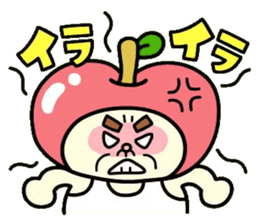 Fairy apple sticker #438543
