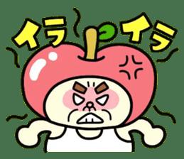 Fairy apple sticker #438543