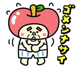 Fairy apple sticker #438547