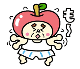 Fairy apple sticker #438548