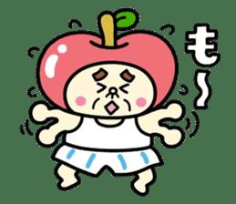 Fairy apple sticker #438548