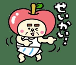 Fairy apple sticker #438549
