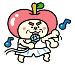 Fairy apple sticker #438551