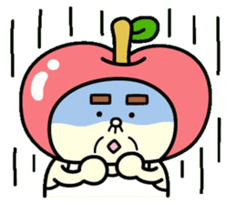 Fairy apple sticker #438552
