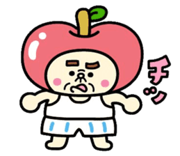 Fairy apple sticker #438553