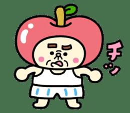 Fairy apple sticker #438553