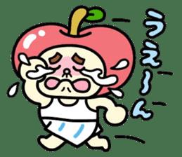 Fairy apple sticker #438555