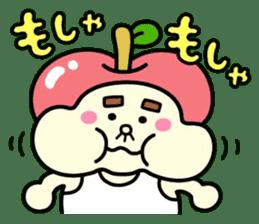 Fairy apple sticker #438556