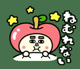 Fairy apple sticker #438557