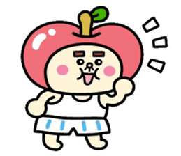Fairy apple sticker #438559