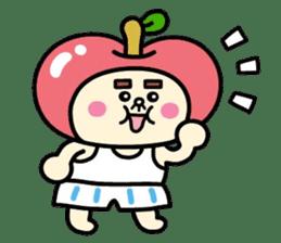 Fairy apple sticker #438559