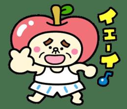 Fairy apple sticker #438562